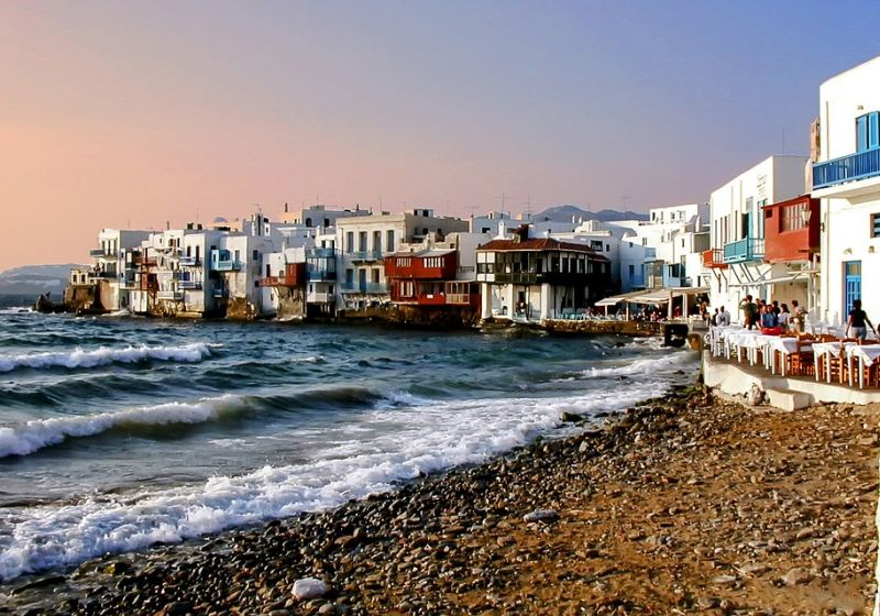 Greek island hopping