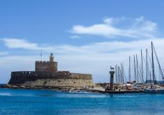 Half Day Rhodes City Tour & Filerimos & Butterfly Valley