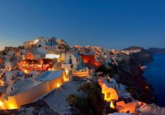 Santorini Dream Honeymoon Vacation (7 nights / 8 days)