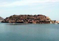 Spinalonga ex-lepers colony : The island - From Heraklion
